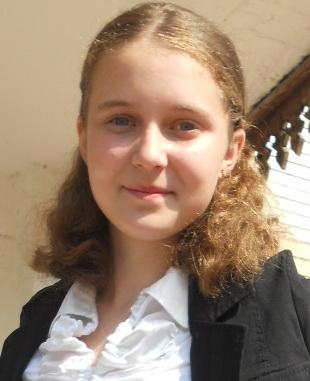 Ірина Буднік. учениця 9 класу,  член гуртка «Майстерня слова».