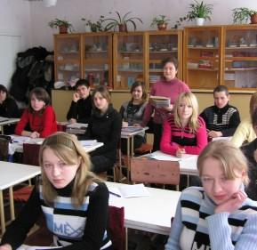 У класі